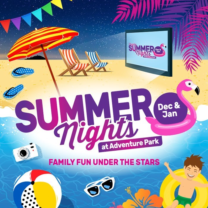Summer Nights Banner