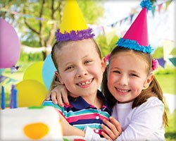 DISCOUNTS ON BIRTHDAY PARTIES!