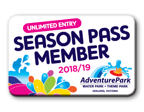 Season pass membership card