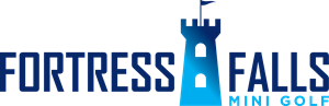 Fortress Falls Mini Golf Logo