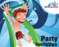 Birthday Party Invite - Boy